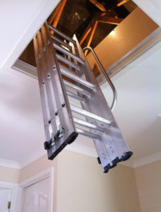 Aluminium Loft Ladders Fitted in Solihull