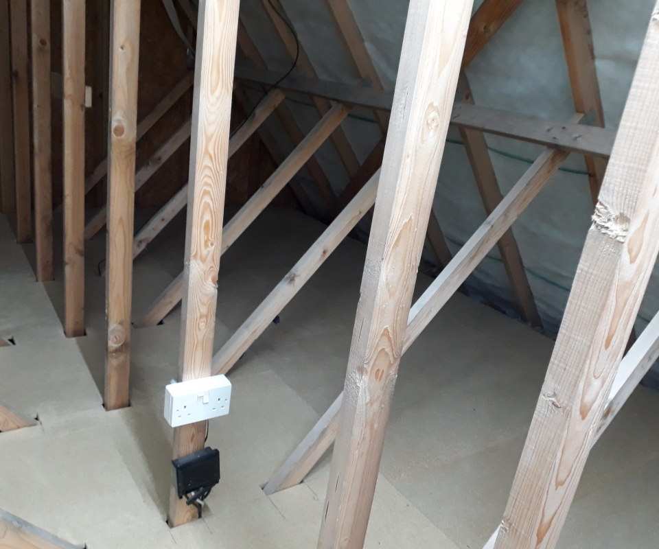 LoftZone Loft Boarding Installed into a New Build Home in Stratford-upon-Avon Warwickshire
