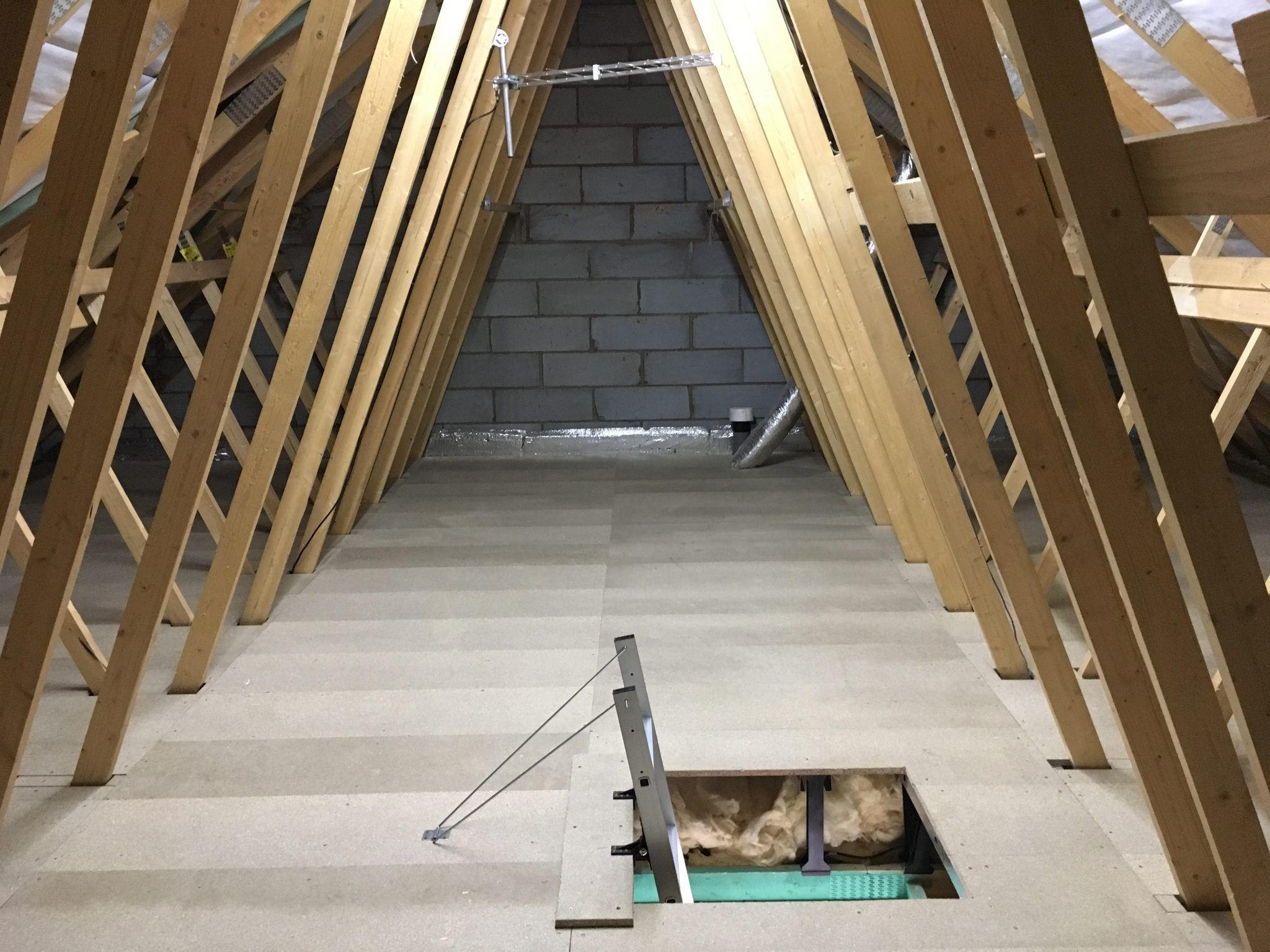 New Build Loft Boarding Packages Dudley
